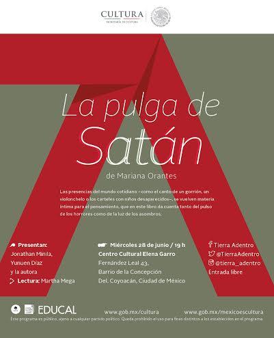 """Presentación editorial: """"La pulga de satán"""""""
