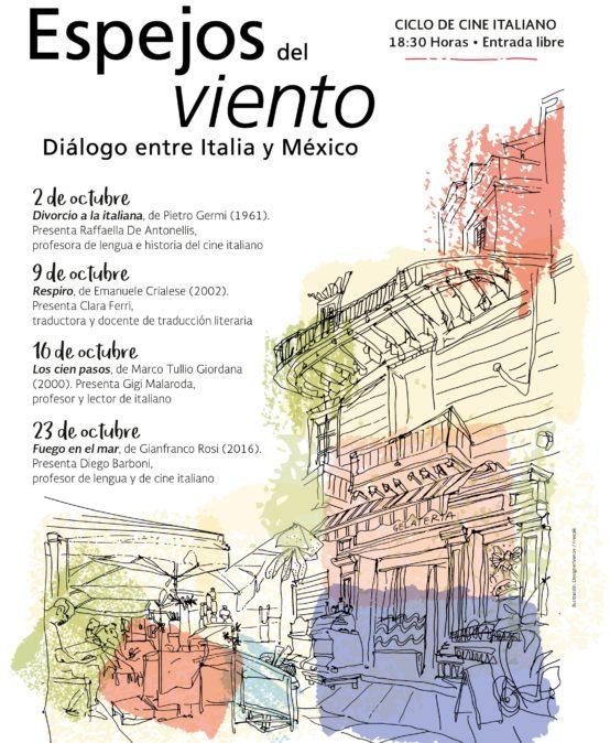 """Cine de octubre """"Espejos del viento"""""""