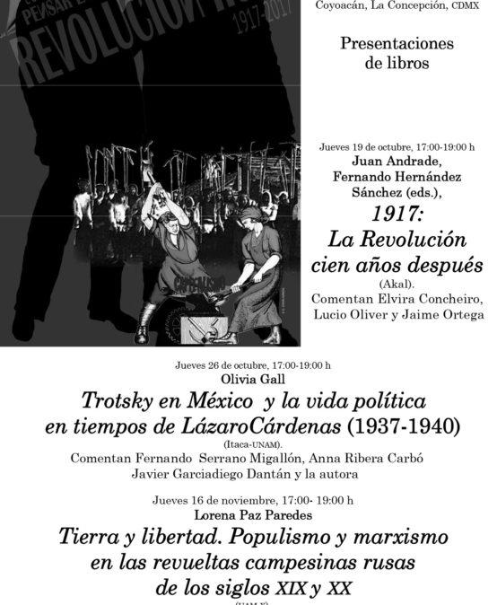 Coloquio: Pensar la Revolución Rusa 1917-2017