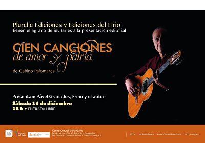 """Presentación editorial: """"Cien canciones de amor y patria"""""""