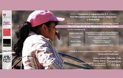 Una Cartografía de las Mujeres en la Migraciones