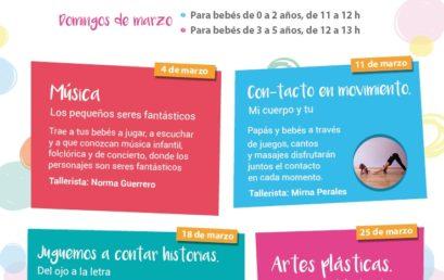 Amiguitos de Garro: Talleres para primera infancia