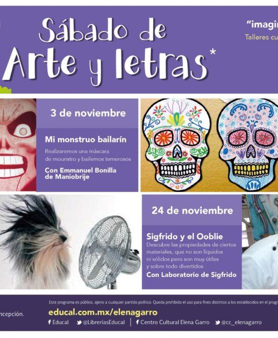 Sábados de Arte y Letras de Noviembre