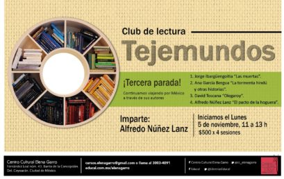 "Club de lectores ""Tejemundos"" (Tercera Parada)"
