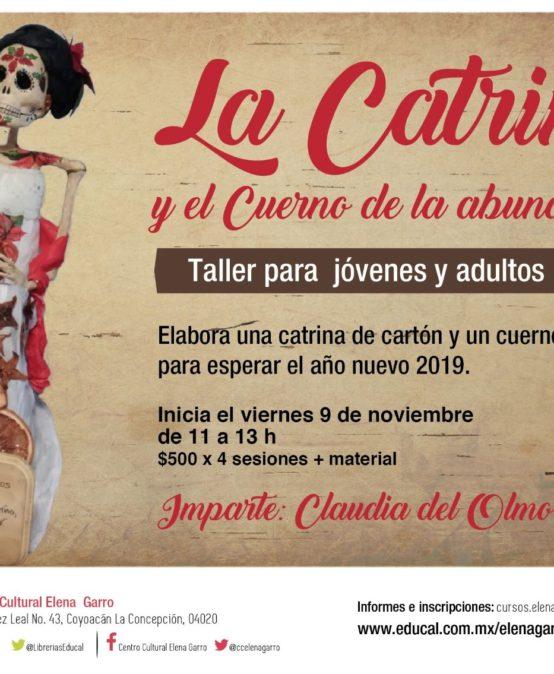 Taller de cartonería: La Catrina y el cuerno de la abundancia.