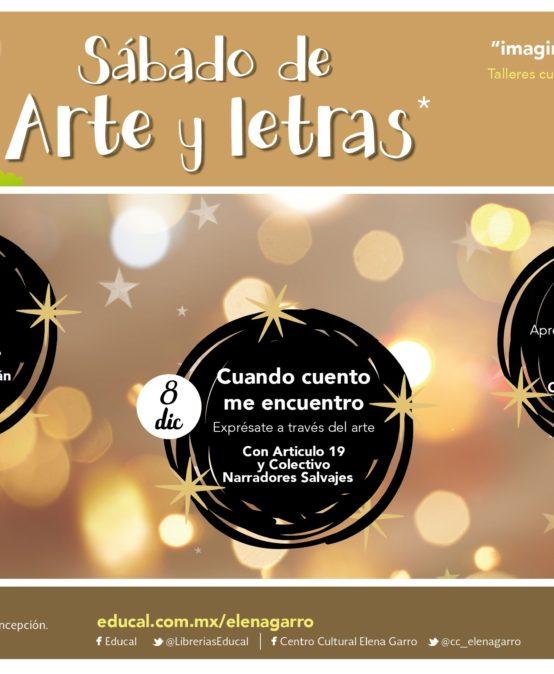 Sábados de Arte y Letras en diciembre