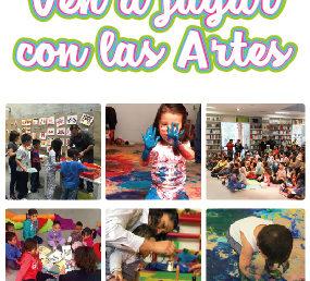 Ven a jugar con las artes / Sábados del 1 al 22 de junio
