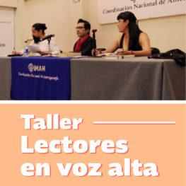 webTALLER LECTORES EN VOZ ALTA