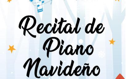 Recital de piano navideño