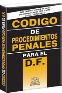 C�digo de Procedimientos Penales D.F.