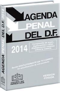 Agenda Penal del d. f. 2014