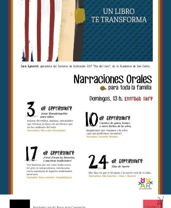 Narraciones orales de septiembre