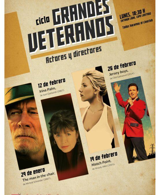 """Cineclub """"Grandes veteranos"""""""