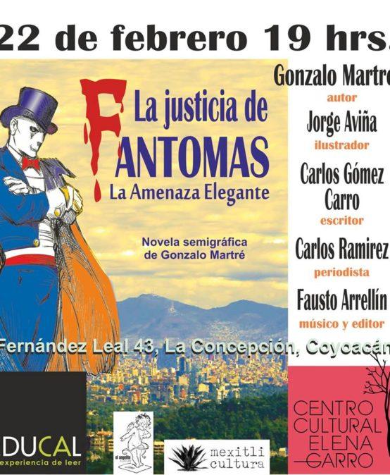 """Presentación de libro: """"La justicia de Fantomas"""""""