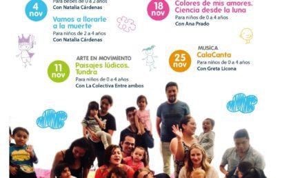 Amiguitos de Garro: Talleres para primera infancia en noviembre