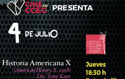 Cine en CCEG / Historia americana X