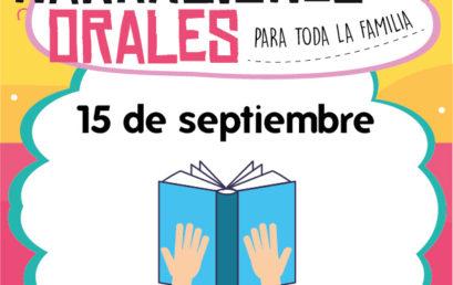 Narraciones Orales / Otra cantada para festejar