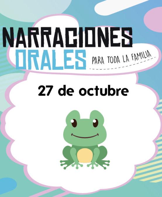 Narraciones Orales / De sapos y secretos