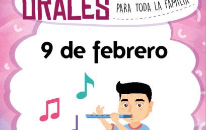 Narraciones Orales / El flautista de Hamelin, narración con música