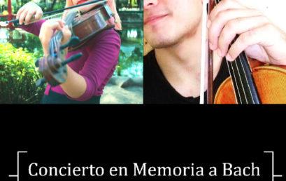 Conciertos / En memoria a Bach